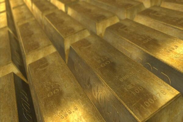 Goud staven