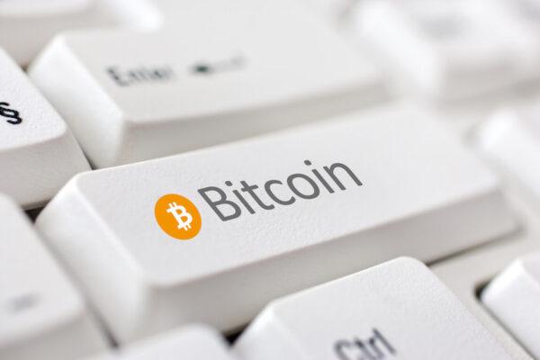 Bitcoin toetsenbord
