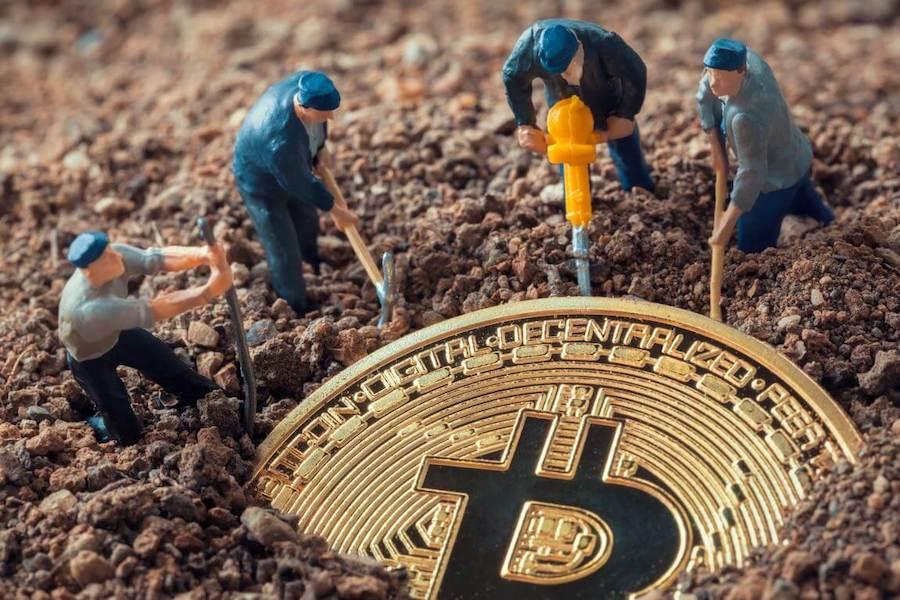 Mannetjes minen bitcoin