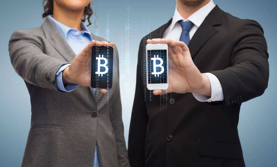 Bitcoin on mobile phone