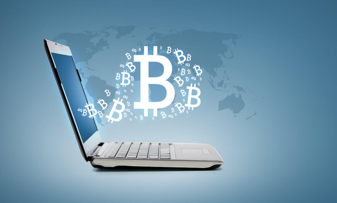Bitcoin uit je computer
