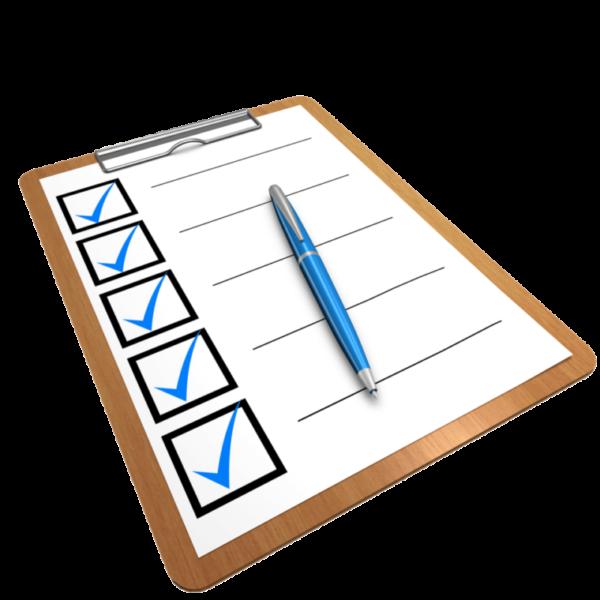 DeGiro checklist